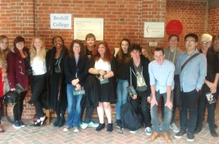 Students at Glyndebourne Trip