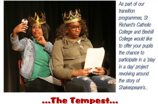 Shakespeare project poster