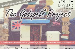 Poster advert for The Godspell Project