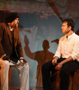 The Kite Runner projection