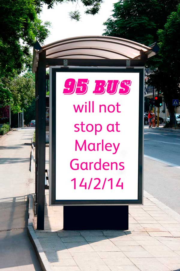 Information on 95 bus route