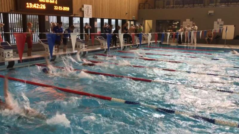 Bexhill College Compete in South East Swimming Gala