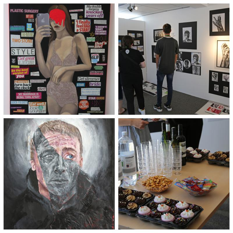 Art & Design Exhibition Wows Attendees