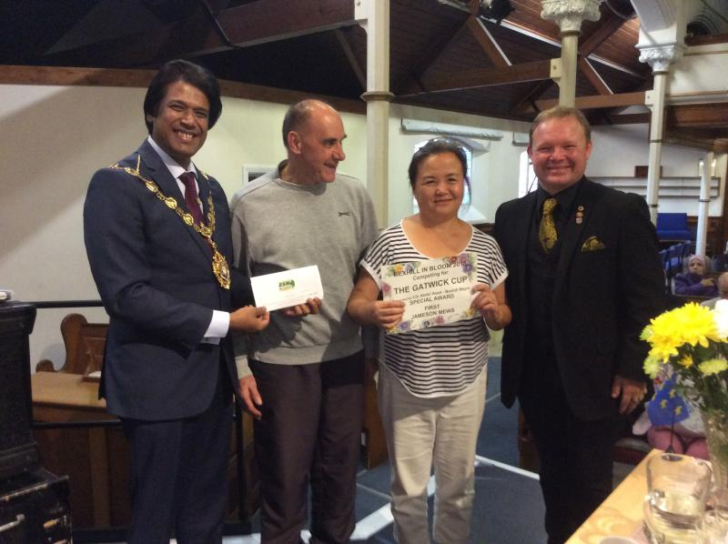 Skills For Life Students Win Best Community Garden Award