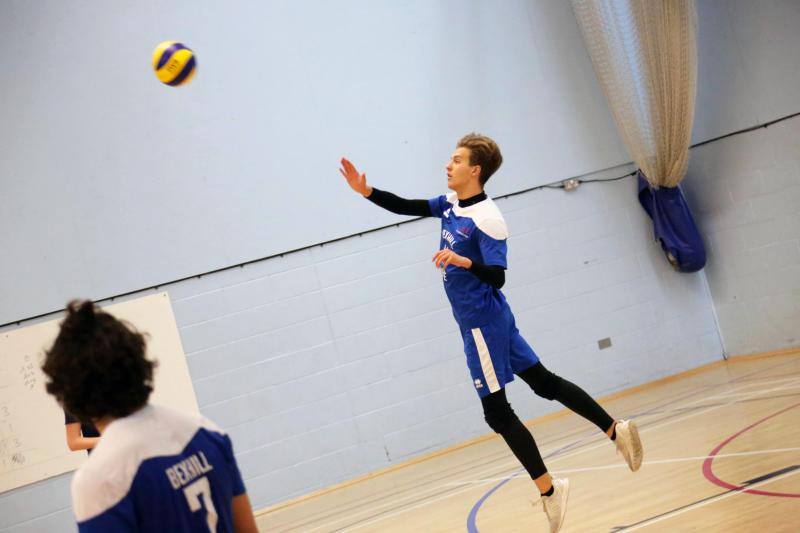Bexhill College Volleyball Academies both through to the National Cup Quarter Finals