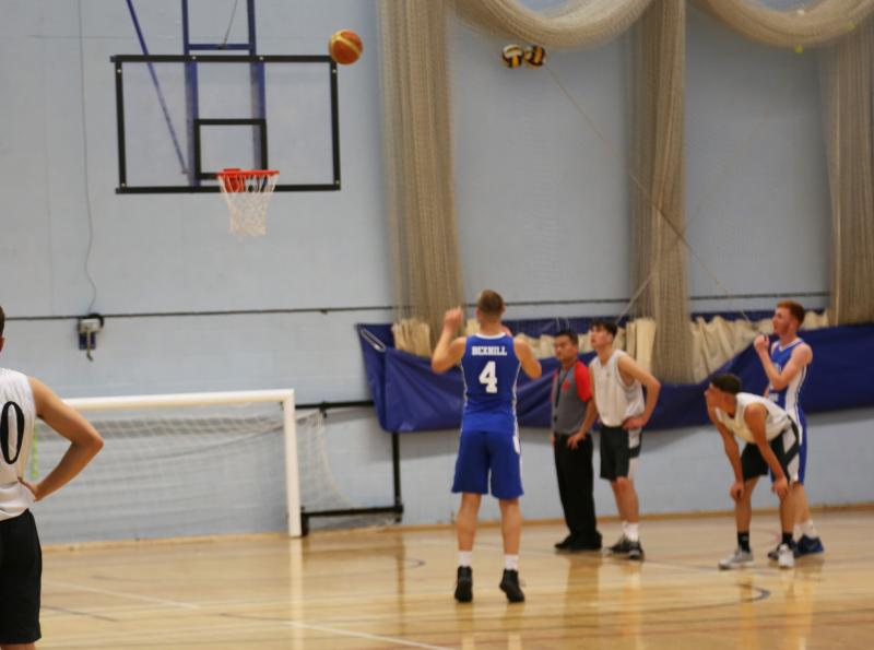 Bexhill Men's Basketball team reach regional quarter finals