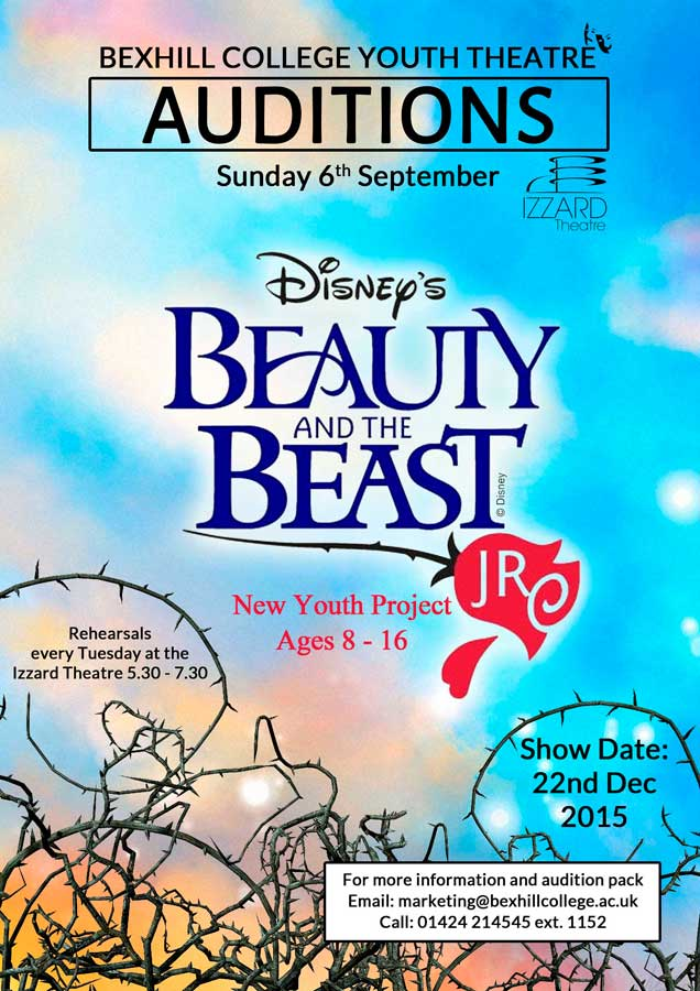 West End Pro Lizzii To Run Youth Theatre Project: Disney's Beauty & The Beast JR.