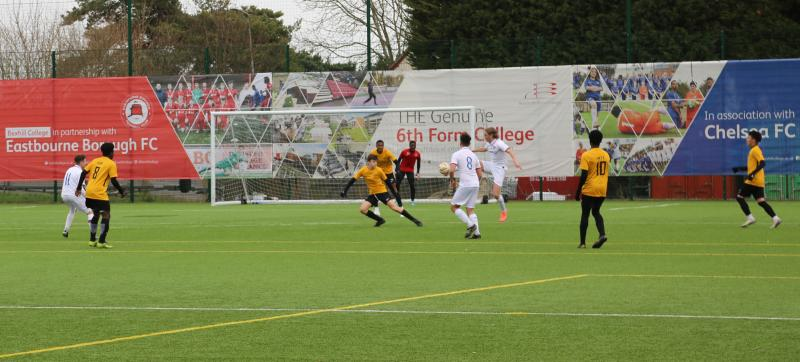 Bexhill College Football Academy Qualify for Men's County Cup Final