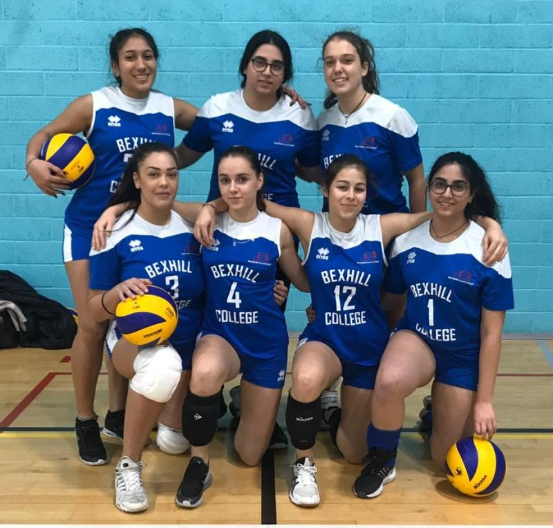 Bexhill Women's Volleyball Academy bring home impressive win
