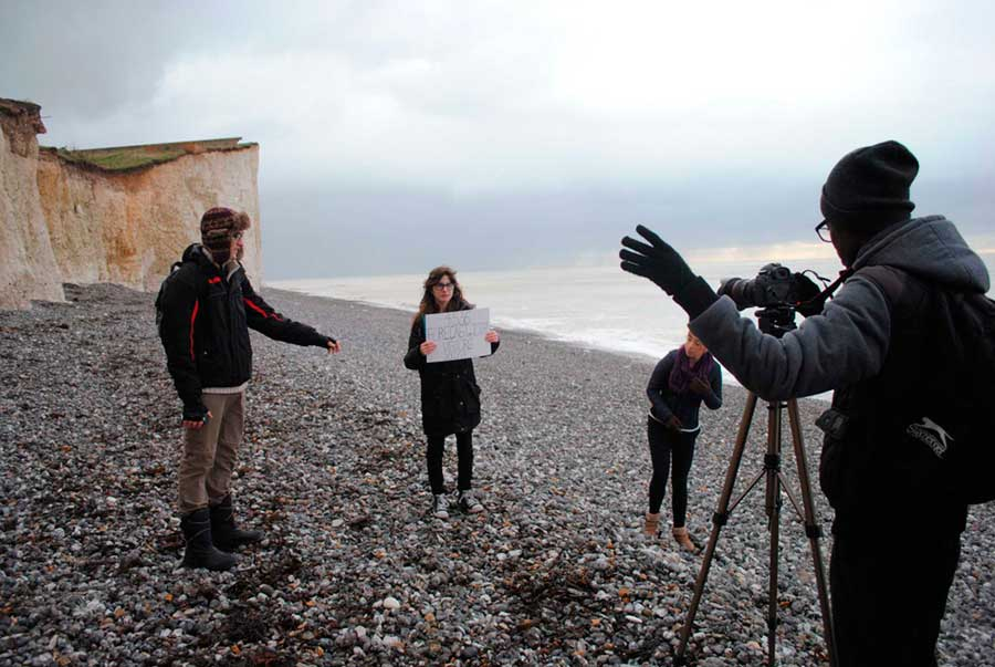 Students Film Video For National Trust