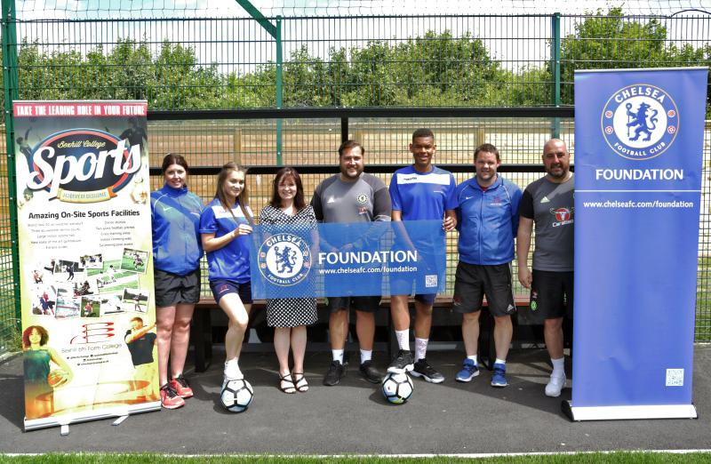 Bexhill College In Association With Chelsea FC Foundation For Football Academies