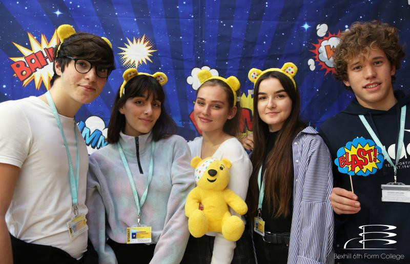 Bexhill College raises money for Children In Need