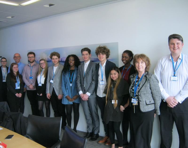 Bexhill College Students Get Career Ready At Canary Wharf