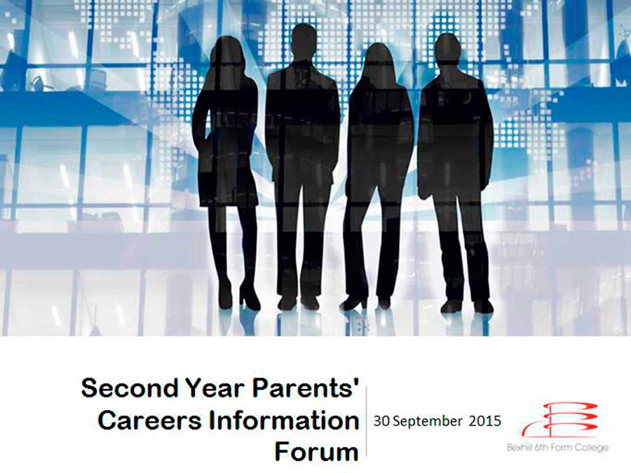 Careers Forum For Parents & Carers On Wednesday 30th September