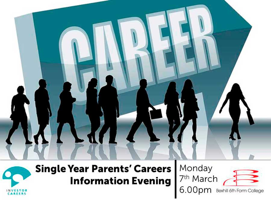 Careers Information Evening For Single Year Parents & Carers