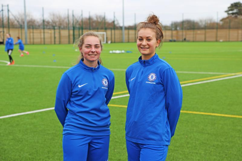 Women's Football Academy Hotshots Invited to Trial at Chelsea FC