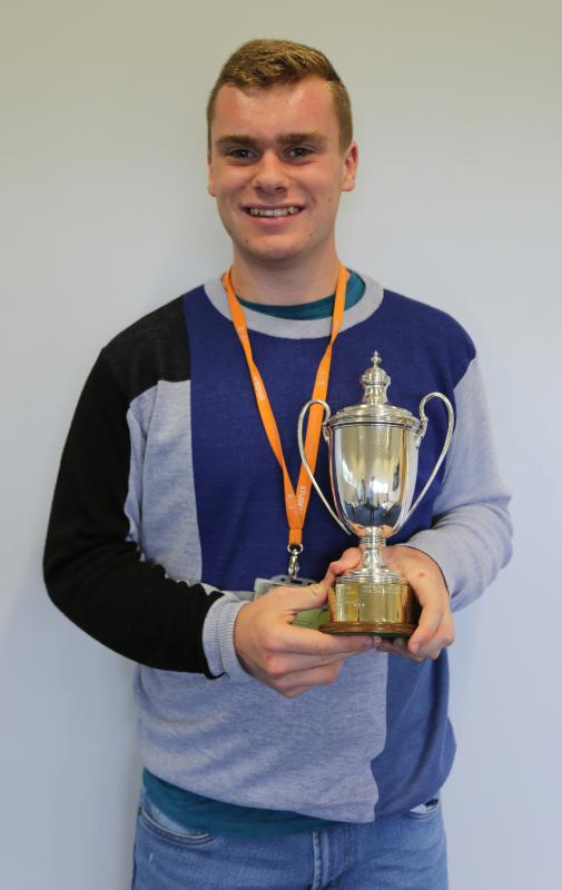 Charlie Green wins Henry Noakes Young Achiever Award 2019