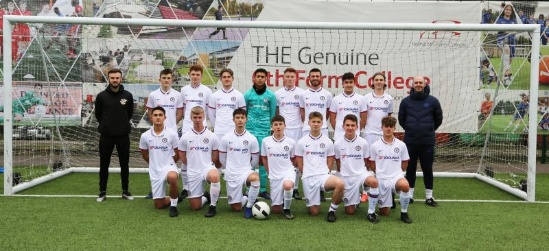 Chelsea FC Foundation support Bexhill College Football Academy Students and Applicants