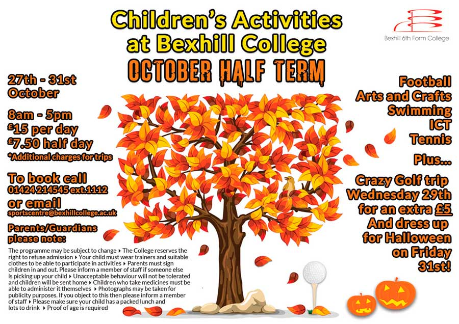 Children's Activities This October