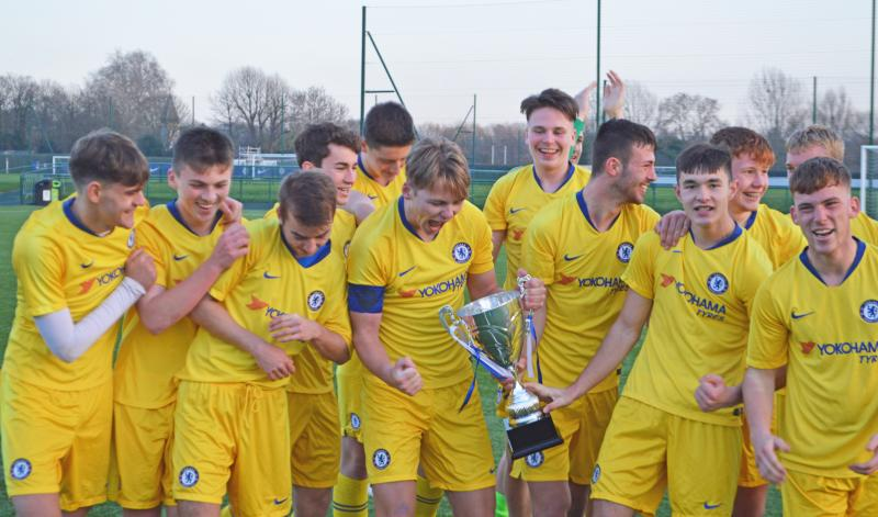 Bexhill College win Chelsea Foundation College Cup Final