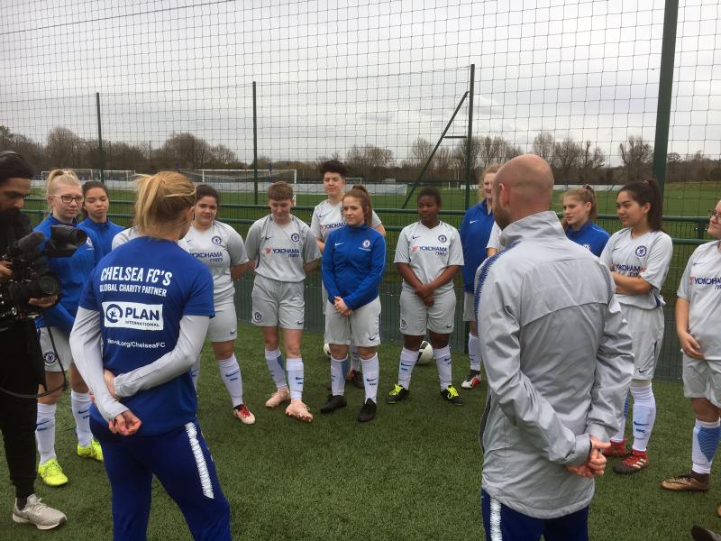 Woman's Football Academy Invited To Cobham Tournament