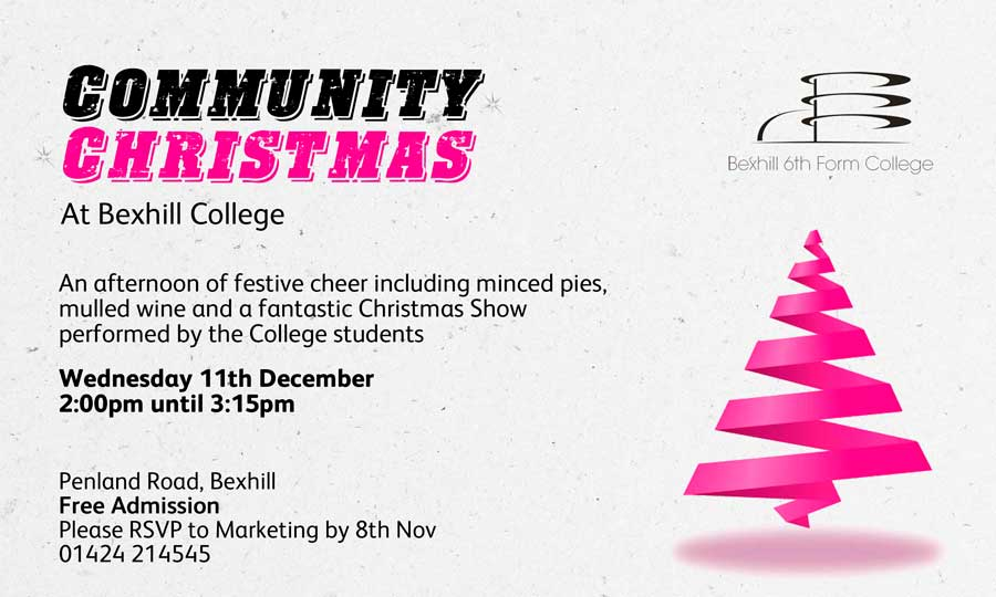Bexhill College Community Christmas