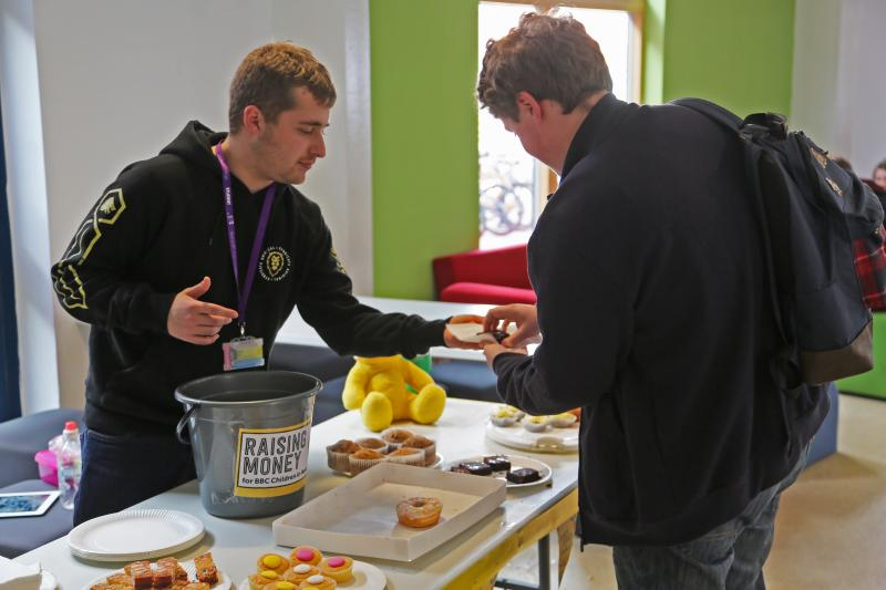 Students and Staff raise money for Children in Need