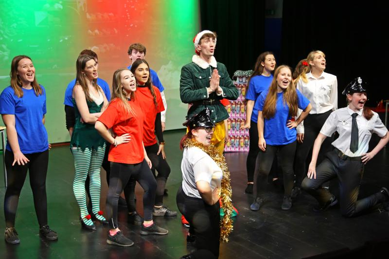Performing Arts' Christmas Production of Elf JR