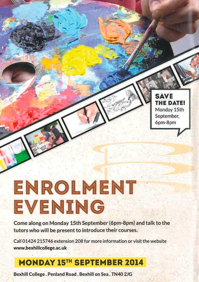 Part Time Enrolment Evening