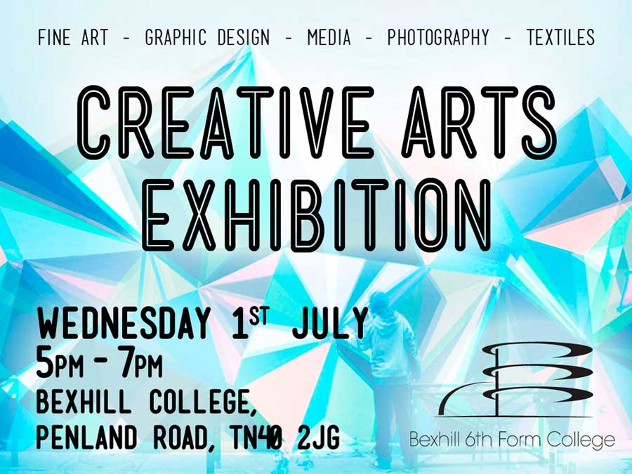 Creative Arts Exhibition Wednesday 1st July