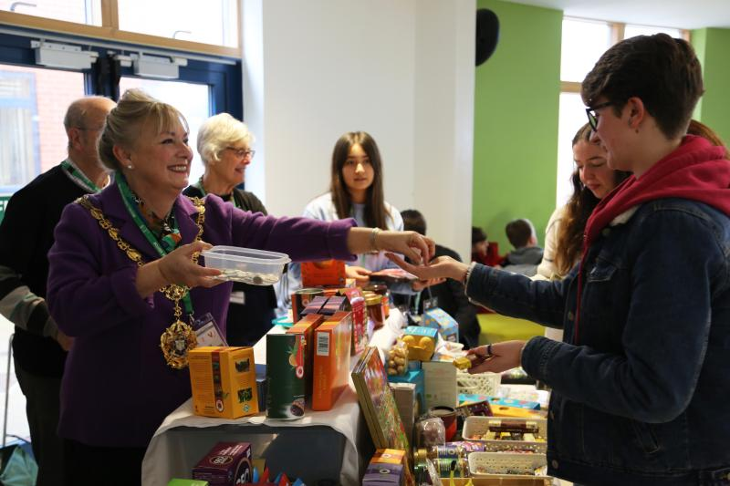 Fairtrade Fortnight at Bexhill College