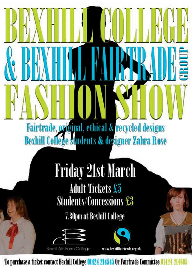 Fairtrade Fashion Show THIS FRIDAY