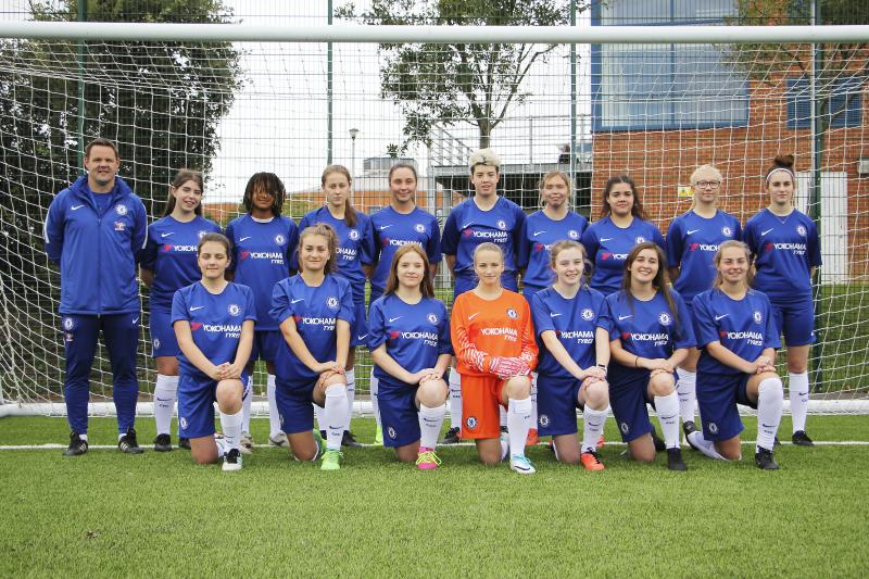Bexhill College Women's Football Academy in association with Chelsea Foundation