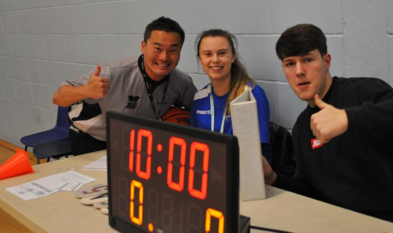 Student Wins AoC Sport Volunteer of the Month Award