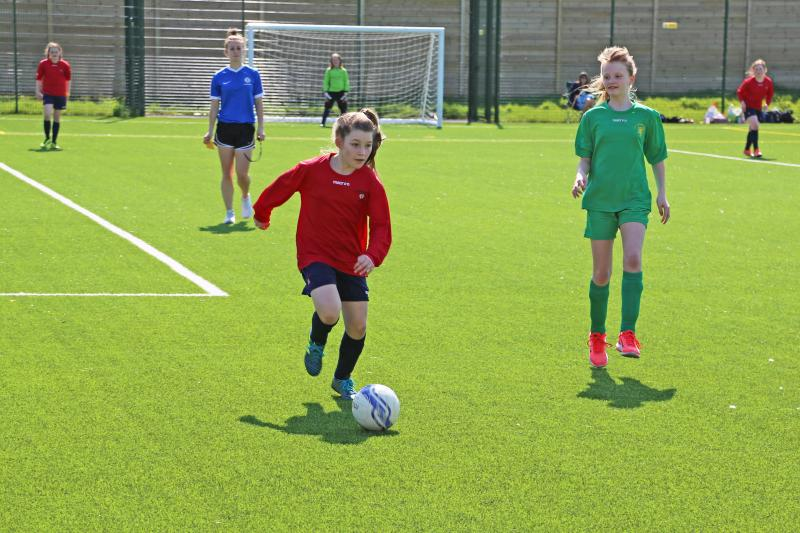 Bexhill College Host Primary Schools Girls' Football Finals
