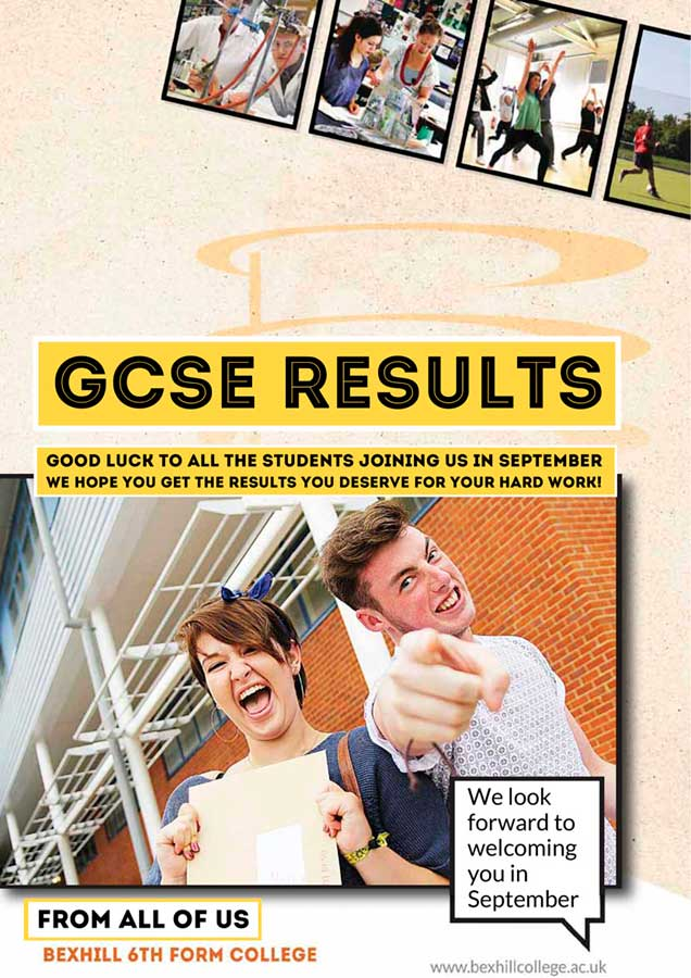 GCSE Results Day - Good Luck!