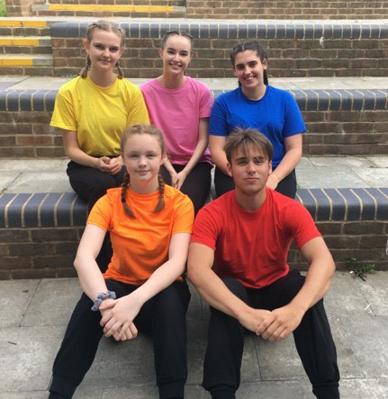Dance students selected to attend expert dance workshop