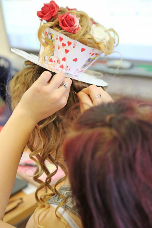 Hairdressing & Barbering Students Showcase Skills