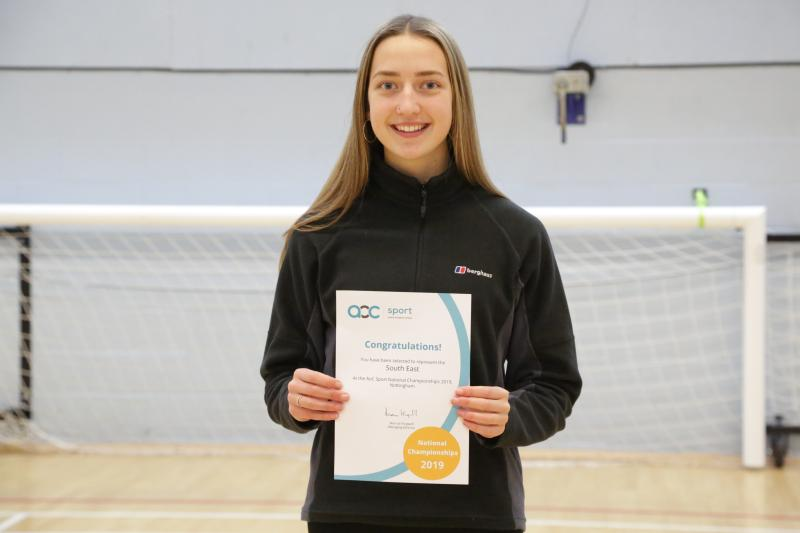 Academy Student Represents South East at National Championships