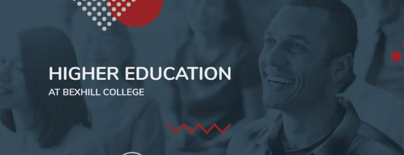 Bexhill College Launch Brand New Higher Education Site