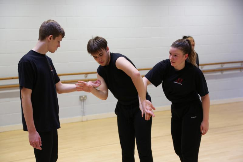 Bexhill College students receive Dance masterclass