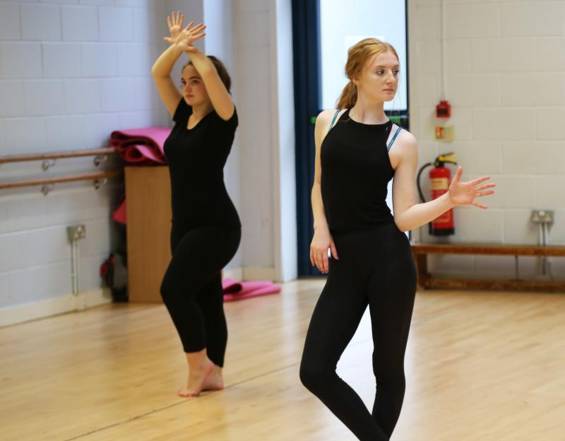 Dance students take part in two hour jazz workshop