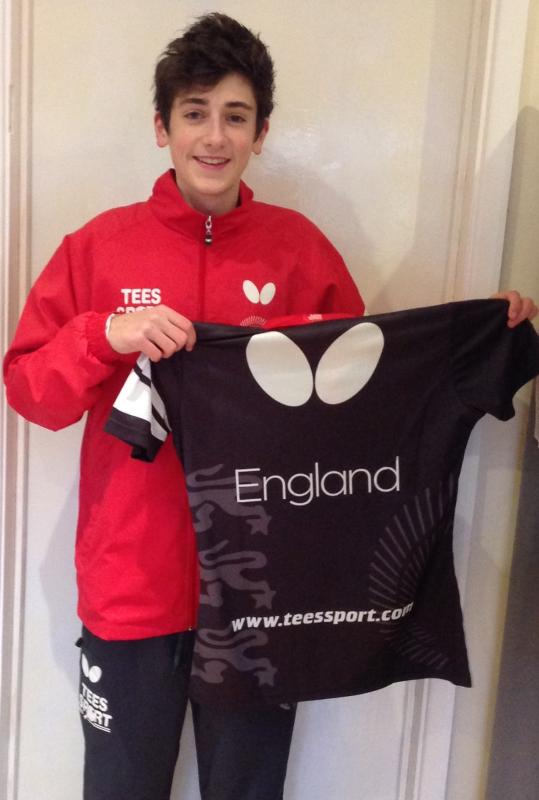 First England Cap For Table Tennis Academy Star In Hungary