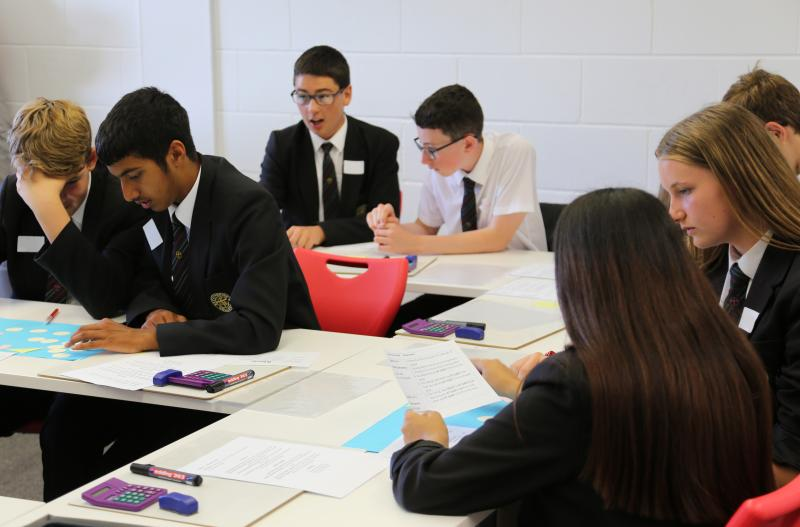Year 9 Pupils Make It Count at Bexhill College