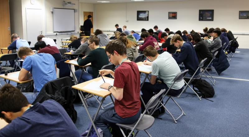 Students represent Bexhill College in UKMT Senior Maths Challenge