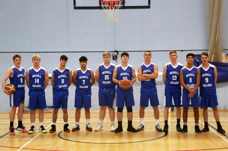 Bexhill College top the South East Basketball League