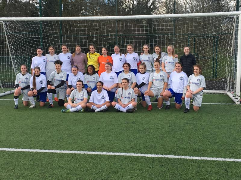 Women's Football Team defeat US Soccer Academy