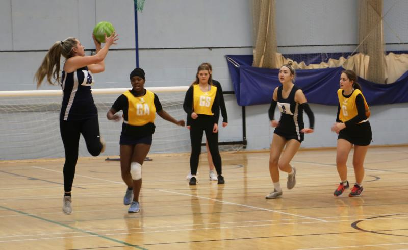 Comfortable win for Bexhill College Netball team