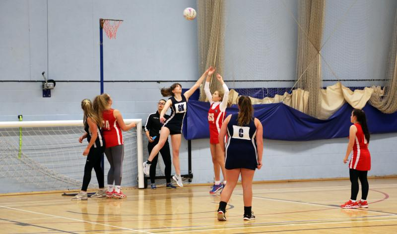 Bexhill College Netball Academy pull ahead against Steyning