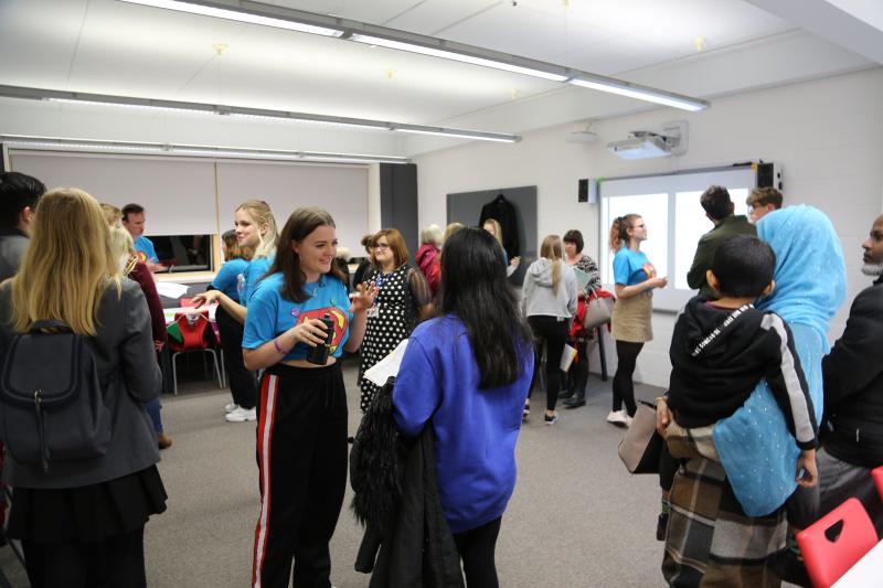 Two Successful Open Evenings at Bexhill College